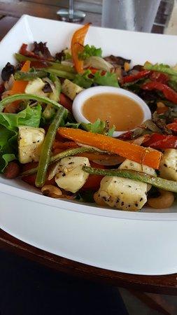 Tacobar Santa Ana: Veggie salad del nuevo menú. Deliciosa!! 👌
