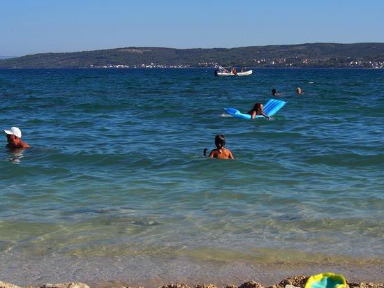 Kastel Stafilic, Kroatien: Beach view