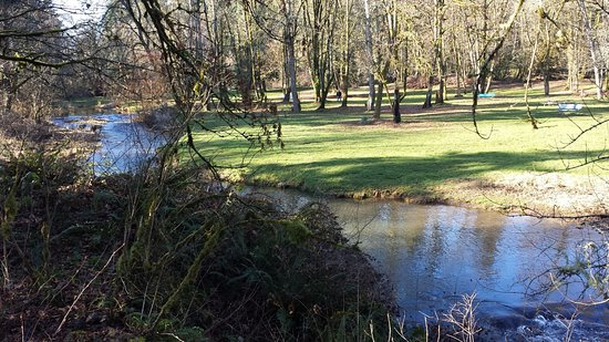 Saint Helens, OR: The creek through McCormick Park