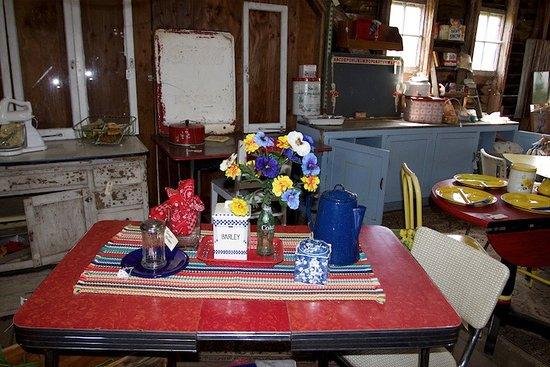 Roseburg, OR: A peek inside the big red barn
