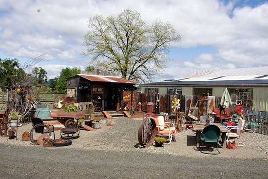 Roseburg, OR: The little shed and a bit of what's available outside
