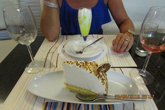 Pizzeria Fratelli : Lemon meringue pie/limoncello desert