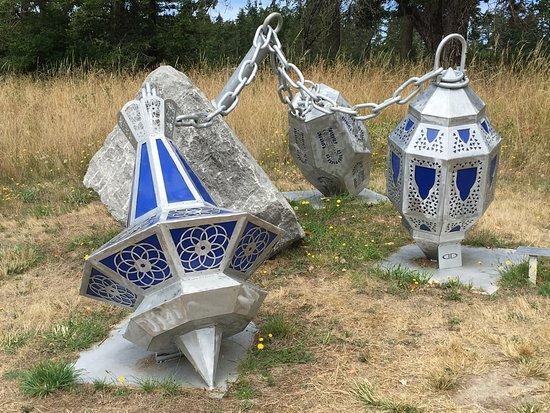 Wescott Bay Sculpture Park & Nature Reserve: Fairytale Metal Sculpture