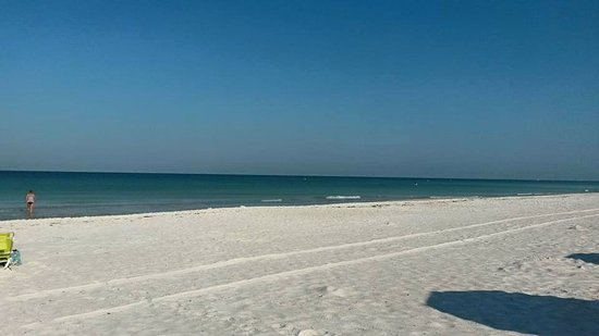 Bradenton Beach, Φλόριντα: White sands and blue waters