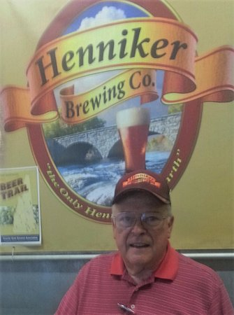 Dave Currier, managing co-founder, Henniker Brewing Company