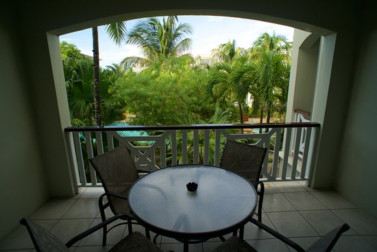 Royal West Indies Resort: Balcony view from Building 6