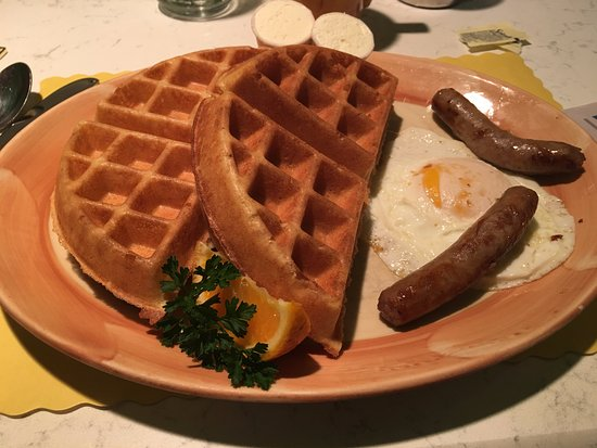 The Original Waffle Shop: Belgian Waffles