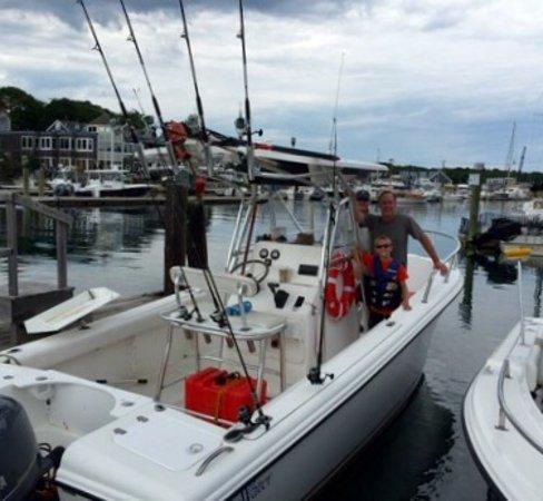 Kennebunkport, ME: Striper Fishing with Steve Brettell