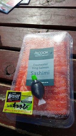 Twizel, Nova Zelândia: 包裝和醬料