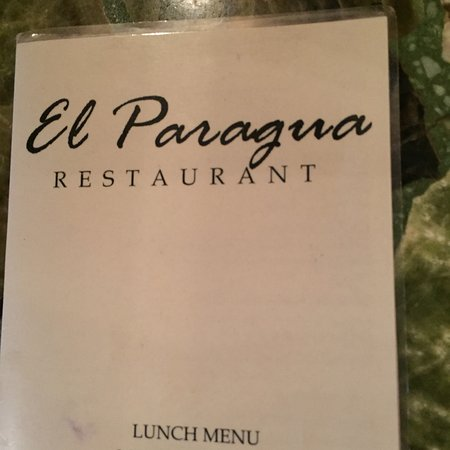 Espanola, NM: The menu