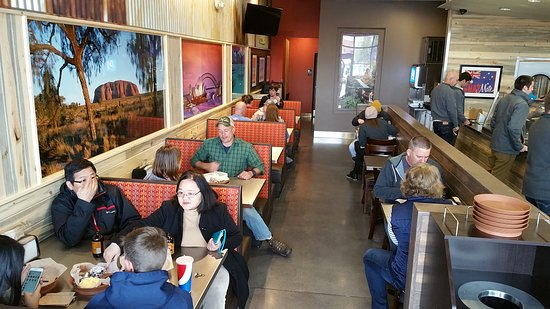 "Aurora, CO: Customers enjoying our ""Tucker"""