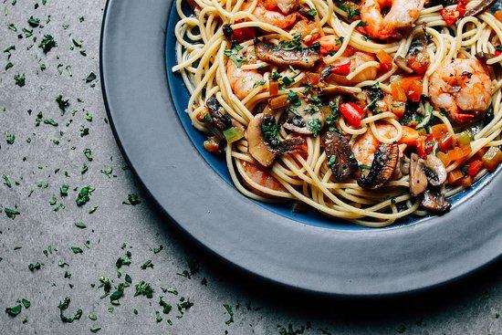 Kudos: Spaghetti Gamberi