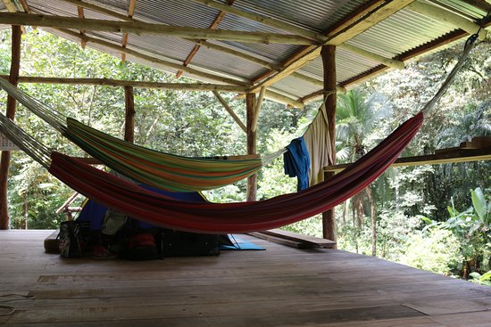 Drake Bay, Costa Rica: over night en finca de la familia