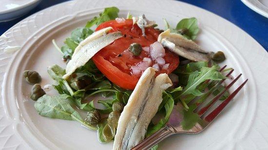 Hillside, Илинойс: White anchovies with tomato