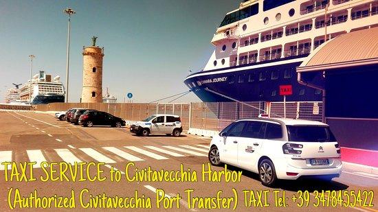 Civitavecchia port harbor porto transfert