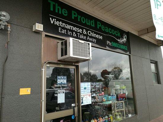 Proud Peacock Vietnamese Restaurant   53 Kingsway, Glen Waverley, Victoria 3150   +61 3 9560 6661