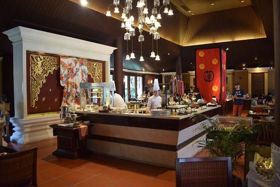The Dhara Dhevi Chiang Mai: مطعم آكاليغو