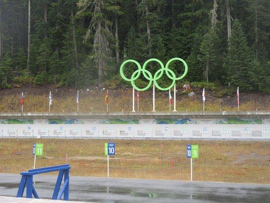 Whistler Olympic Park Biathlon Area BC