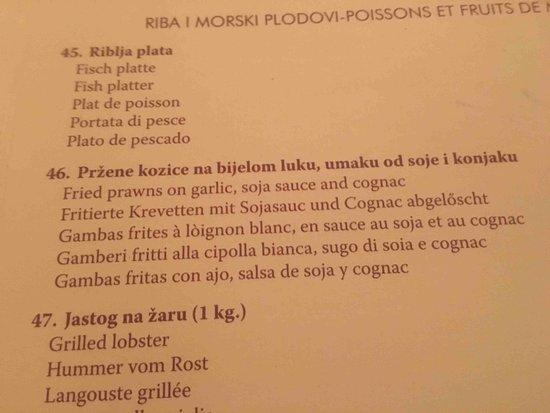 Konoba MARETA: fried prawns