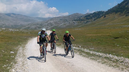 Green Visions: Biking on the Olympic mountain of Bjelasnica