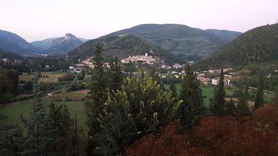 Arrone, Italia: VEDUTA DAL BALCONE DEL RISTORANTE