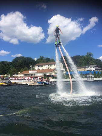 Lake Hopatcong, NJ: Fly High Watersports