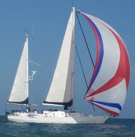 Big Mama Sailing: Spinnaker Run