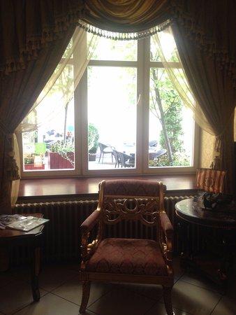 Гостиница Hotel Garden Palace: recepcion