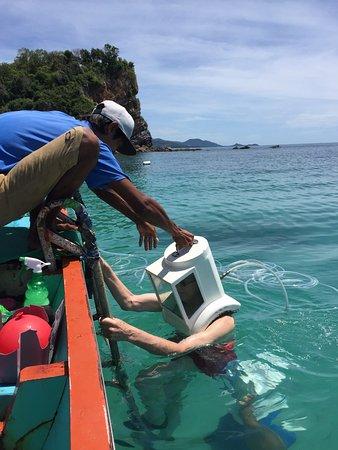 Bophut, Thailand: Seawalking Koh Samui is brilliant!