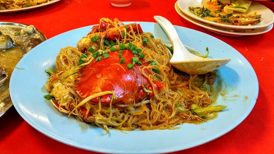 End Of The World Seafood: Crab vermicelli, the piece de resistance at End of the World