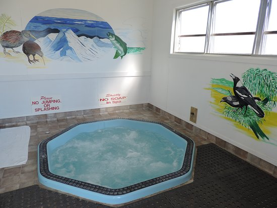 Turangi, Nova Zelândia: Private Spa Pool