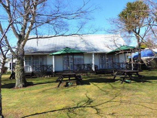Turangi, Nya Zeeland: Guest Picnic Tables