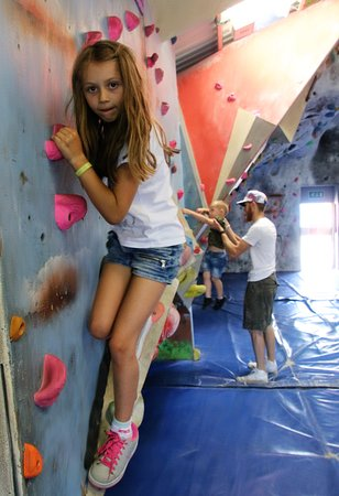 Crowborough, UK: Family Climbing
