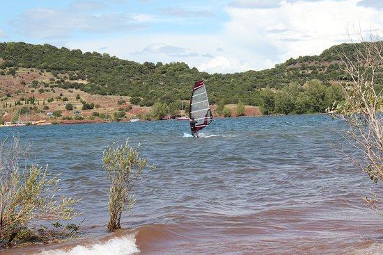 Herault, Frankrike: Camping Club Lac du Salagou