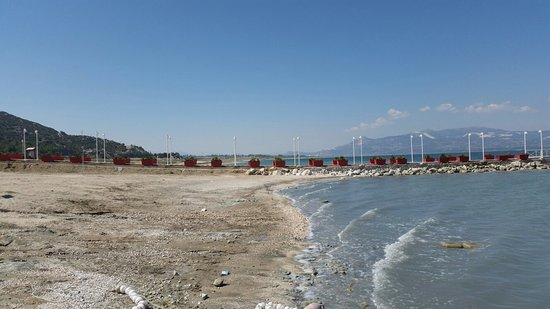 Burdur Lake Beach