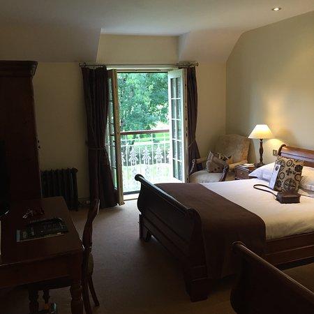 Great setting beautiful rooms