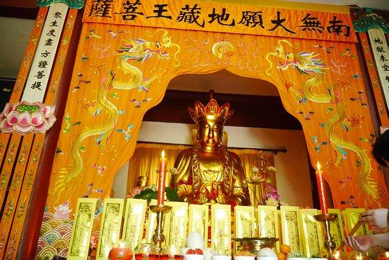 Zhanshan Temple: พระพุทธรูปภายในวัด สวยงามมาก