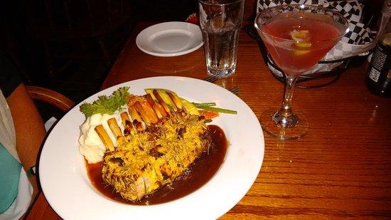 Slocums Grill & Bar : New Zealand Lamb.