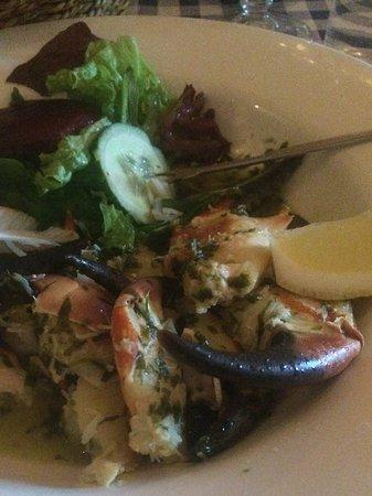 Ventry, Irlandia: The Skipper Crab Legs dinner