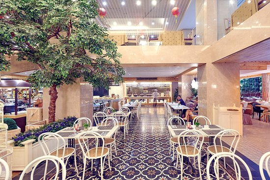 Garden Palace Hotel: Ambience Of GREEN HOUSE KITCHEN BISTRO
