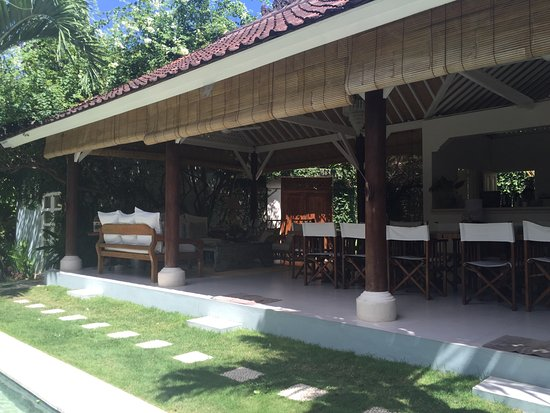 Goddess Retreats: View to dining area