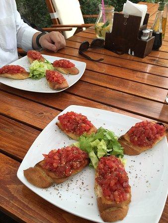 Restaurant DaVinci: bruschetta lecker