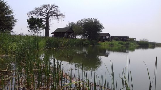 Mubanga Lodge: View from jetty