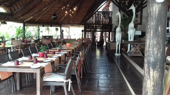 Mubanga Lodge: Restaurant area