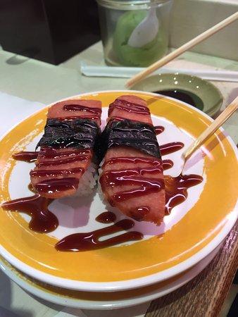 Genki Sushi: スパム寿司