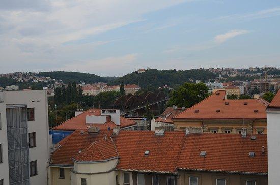 Park Inn Hotel Prague: Rooftop Terrace View