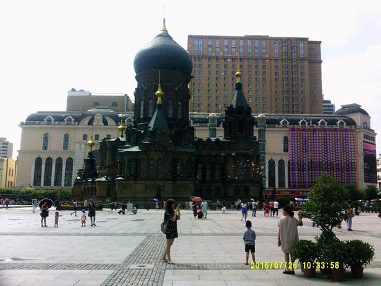 Saint Sophia Cathedral: saint sophia square - church