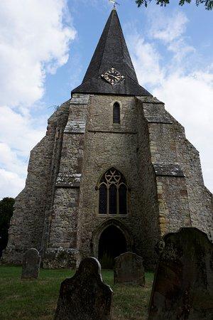Woodchurch, UK: clock tower