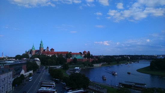 Kossak Hotel: View from the terrace