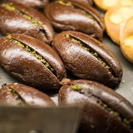 Paper Stone Bakery Chocolate Custard Bun